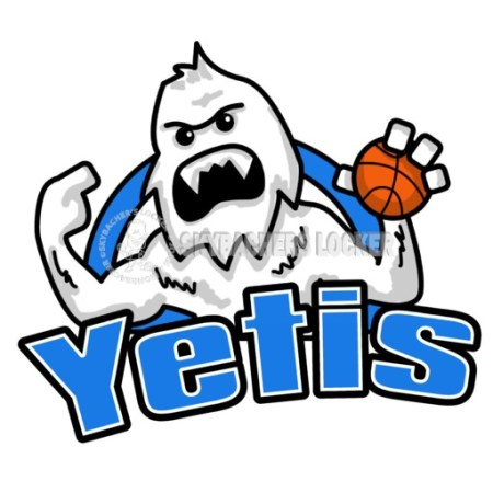 Yeti Basketball Logo - Skybacher's Locker