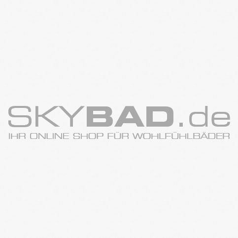 Duschhocker Design Hewi System 800 Stool 9505130098 With Integrated Recessed Handles, Signal White
