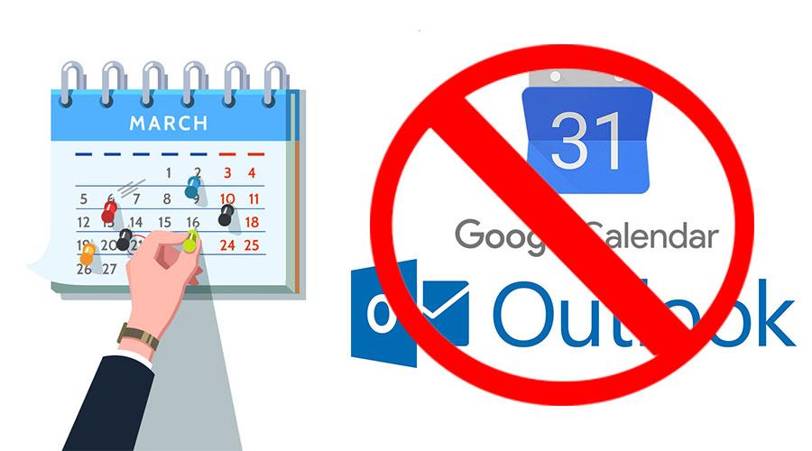 3 Striking Drawbacks of Google Calendar  Microsoft Outlook for K-12