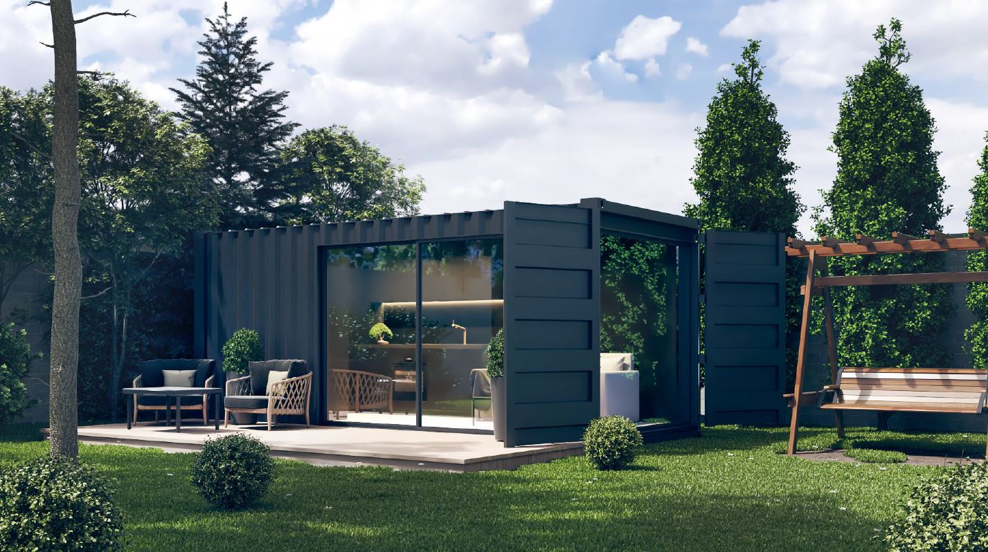 Container Fertighaus Kaufen Tiny House Kaufen - Skycontainer.at