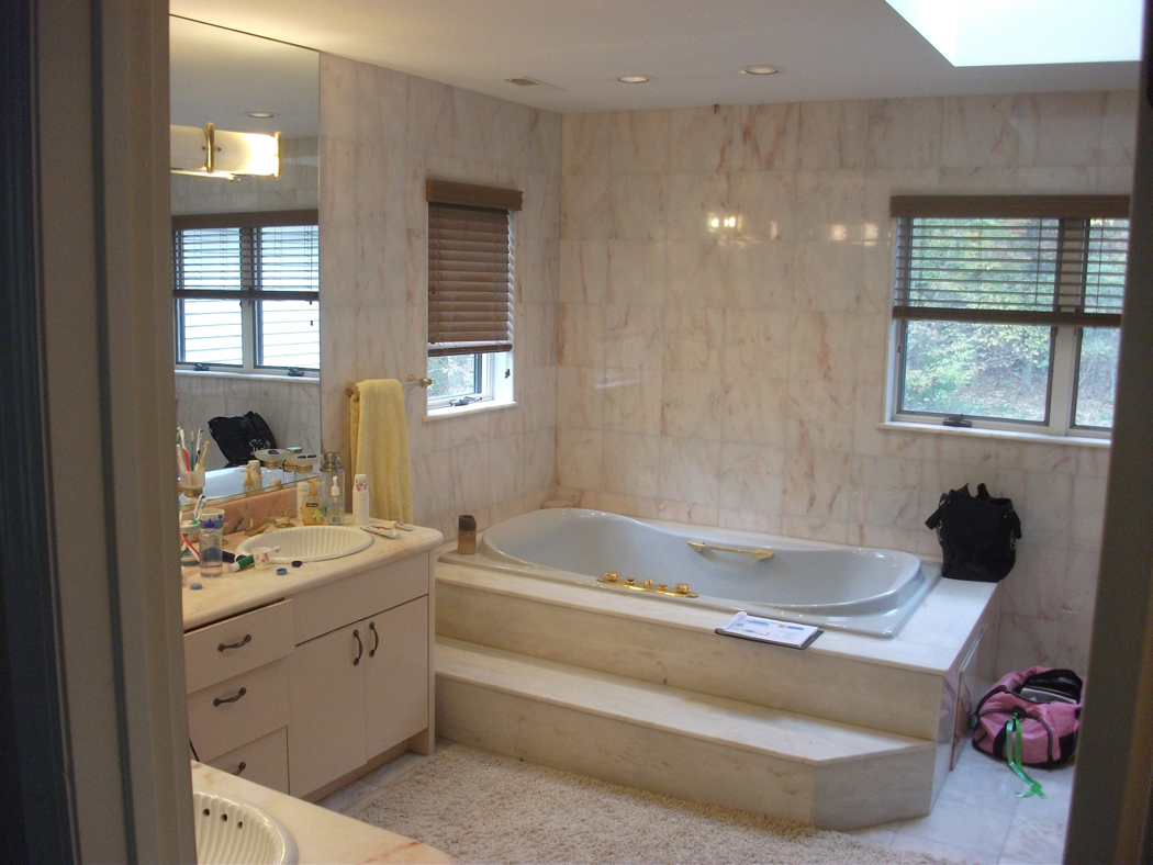 Rénovation Full Master Bathroom Remodel For Allen And Lynda In