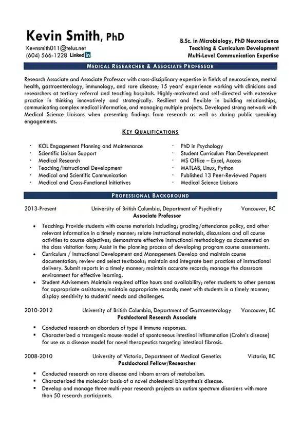 resume services kamloops