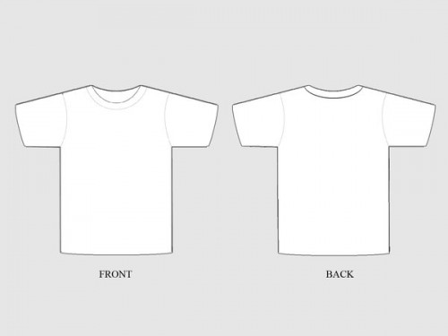50+ Free Awesome T-shirt Templates - pocket t shirt template