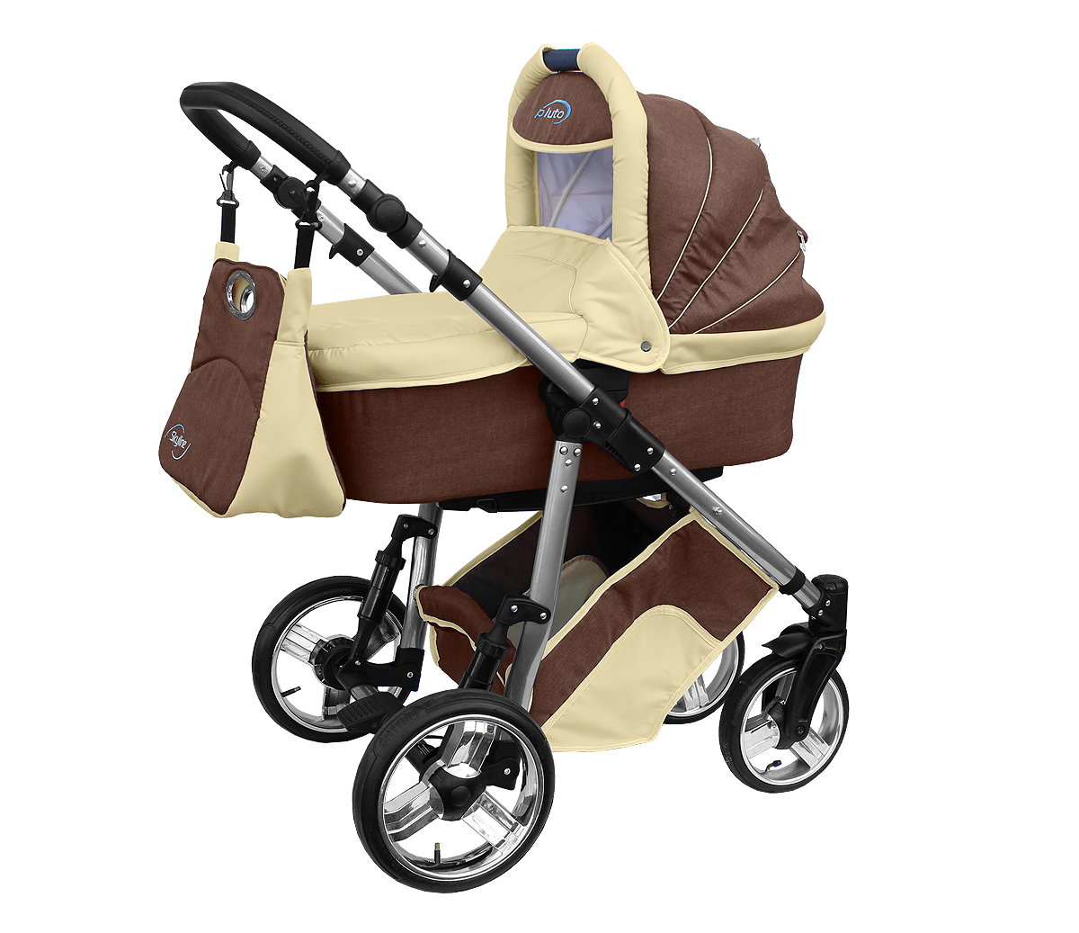 Lightweight Buggy For Air Travel Baby Pram Complete Travel System Pushchair 3in1 Car Seat