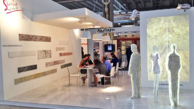 SKARLIS MARBLE S.A. @ MARMOMACC 2013 International Trade Fair