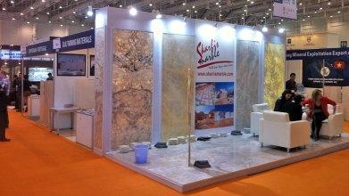 SKARLIS MARBLE at China Xiamen International Stone Fair 2013