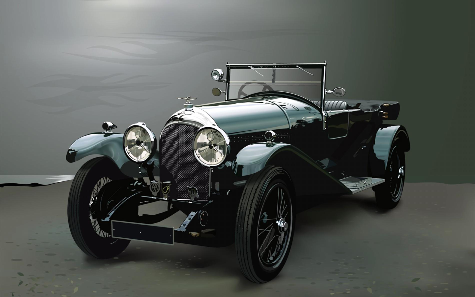 Images Of A Bentley Car Wallpaper The Best Vintage Car Wallpapers 2 Best Vintage Car Wv