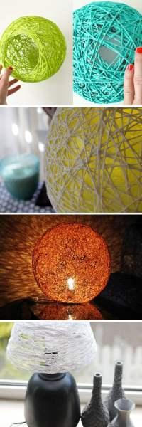 25+ diy lamp shade projects - ideas