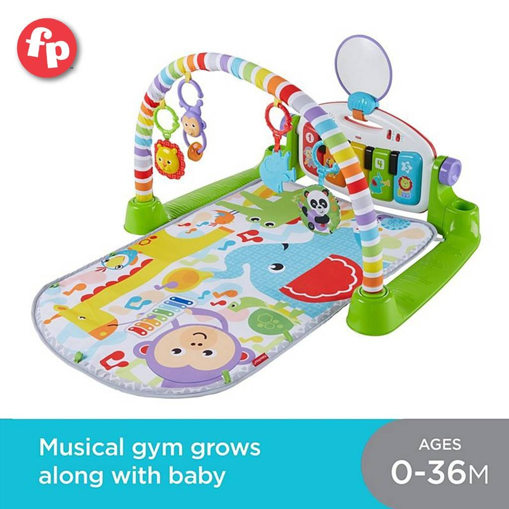 Baby's Learning Pen Fisher Price Deluxe Kick Play Piano Activity Gym Playmat