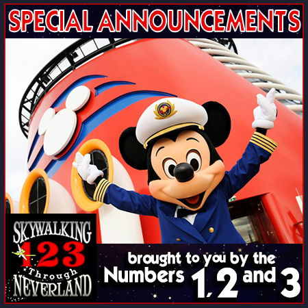 123: Special Announcements! (brought to you by Numbers 1,2 and 3)