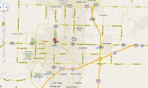 Joplin on the map