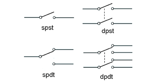 spdt relay diagram