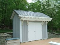 A Small Backyard Storage Shed | Slabaugh Barns