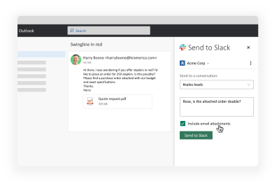Increase everyday productivity with Office 365 apps for Slack   The Official Slack Blog
