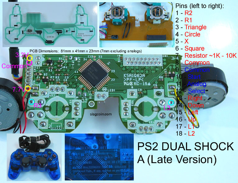 Ps3 To Xbox 360 Controller Wiring Diagram Wiring Wiring Diagram