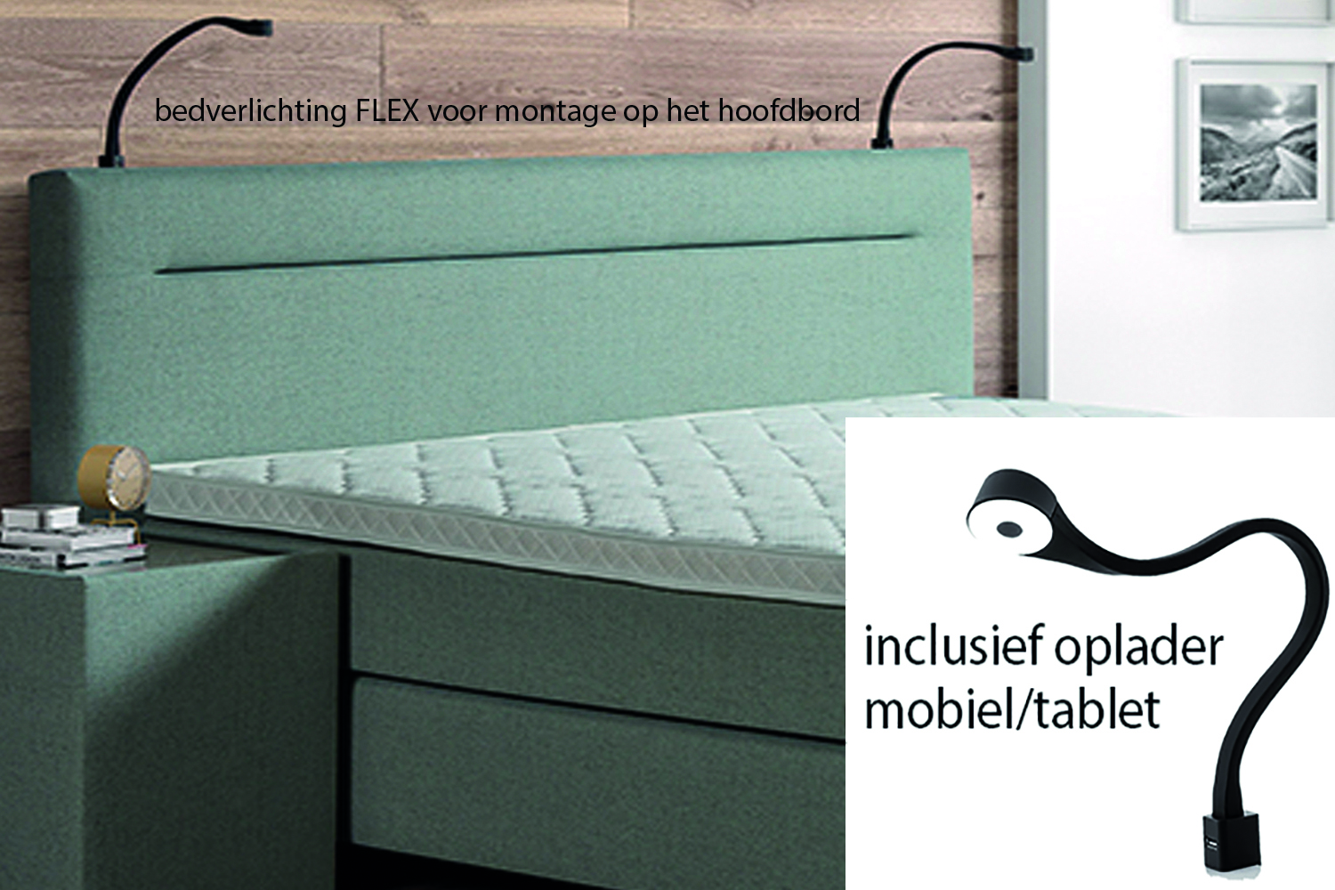 Kledingkast Inclusief Montage Achterwand Boxspring Beautiful Boxspring Slp With