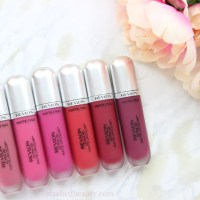 Revlon Ultra HD Matte Lipcolor Review & Swatches