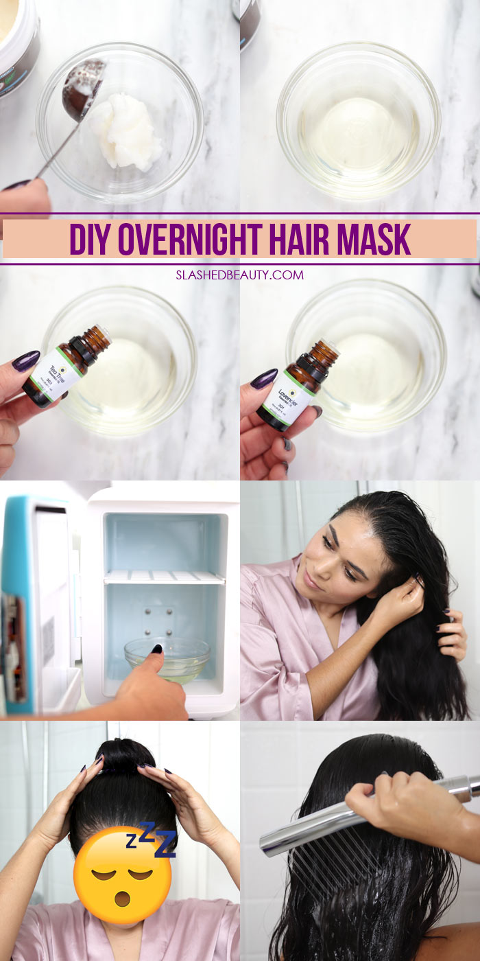 Diy Overnight Hair Mask For Fall Dandruff Dryness Slashed Beauty