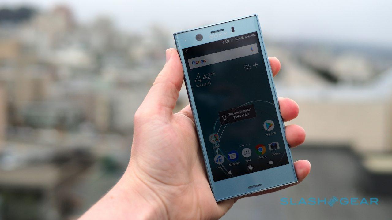 Sony Xz1 Compact System Update Sony Xperia Xz1 Hands On With Xz1 Compact Slashgear