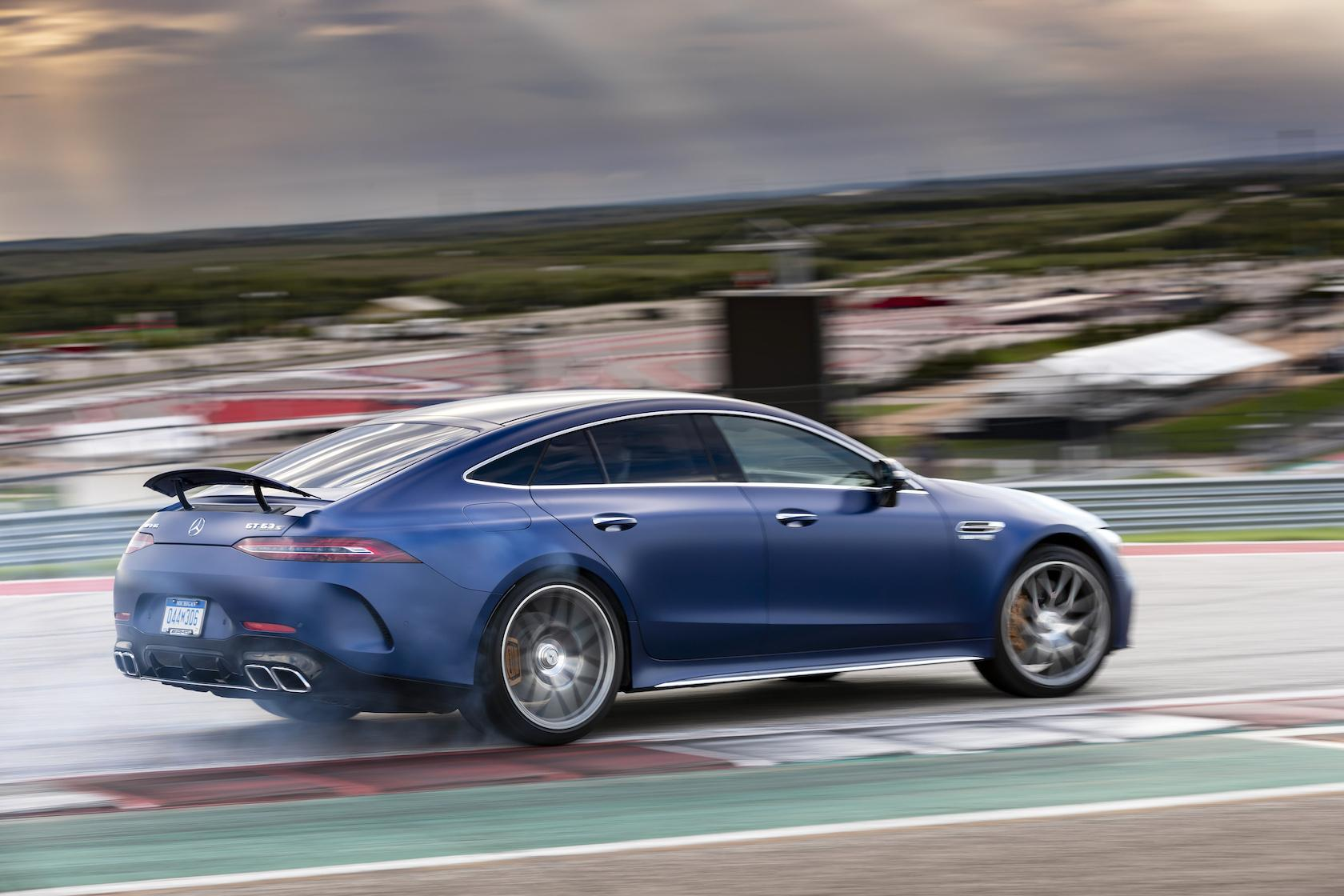 4 Türer 2019 Mercedes Amg Gt 4 Door Coupe First Drive Barely Tamed