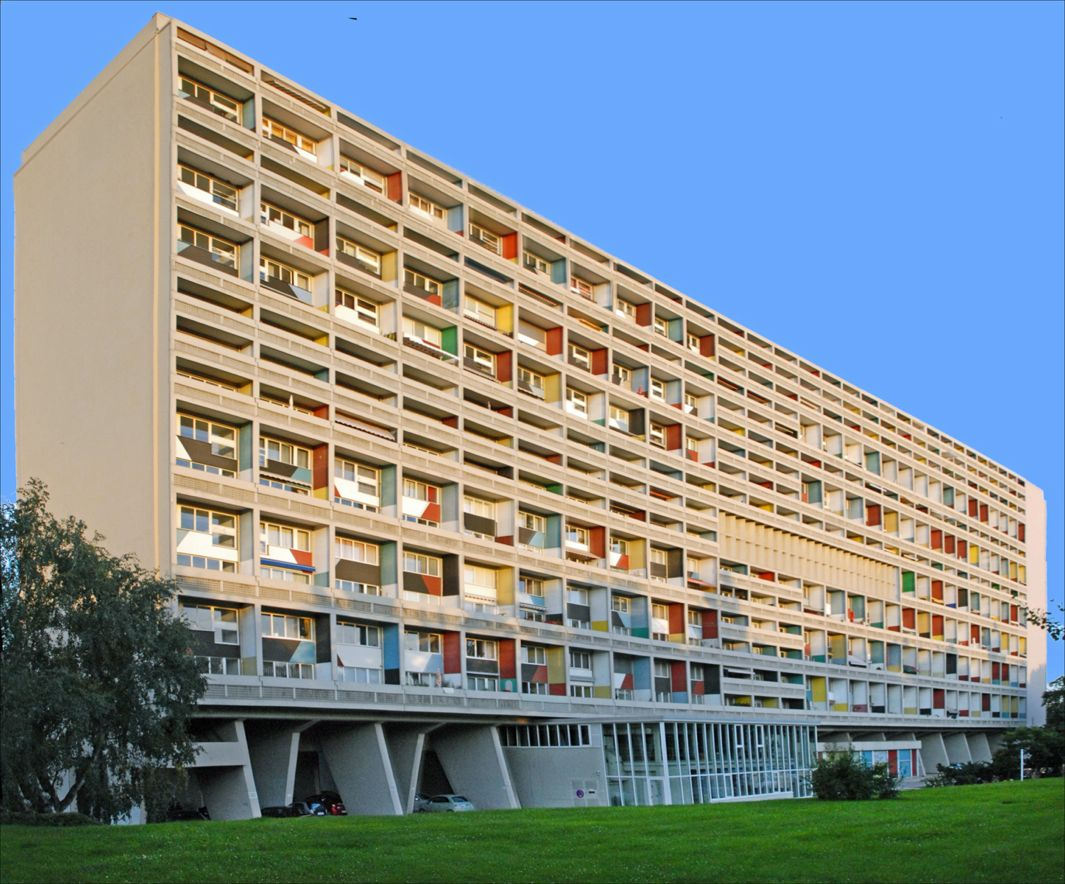 Corbusierhaus Berlin Brutalist Architecture: A Case For Hulking, Concrete