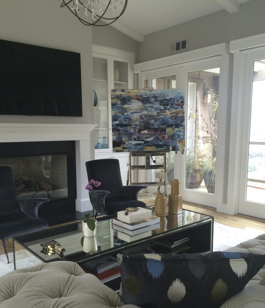 Fulgurant Home San Francisco Area Slate Art Consulting Arthur Blank Beach House Hilton Head Arthur Blank House Montana Orinda Ian Kimmerly Art curbed Arthur Blank House