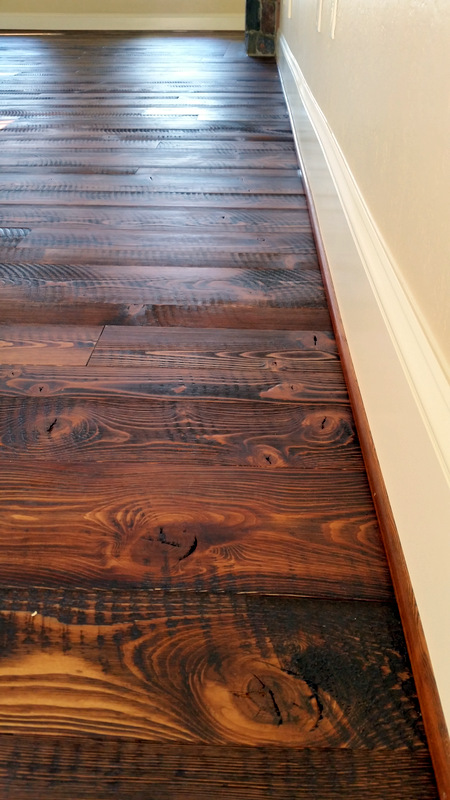Douglas Plank Rough Sawn Douglas Fir Flooring - Sustainable Lumber Company