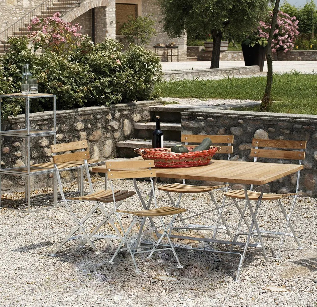 Table Terrasse Pliante Lucca Table Terrasse Restaurant Bois Pliante Mobilier