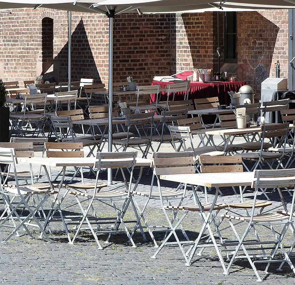 Mobilier Terrasse Restaurant Table Lucca