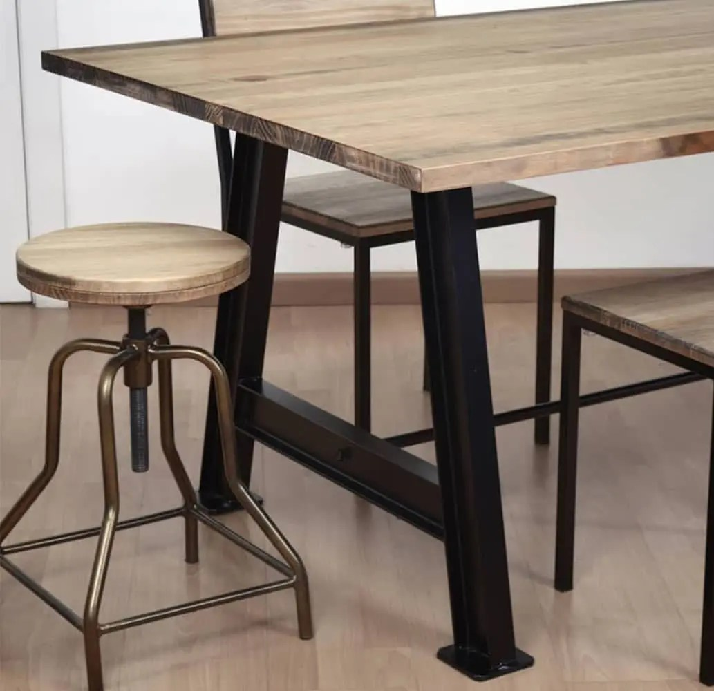 Tabouret Capas Mobilier Bar Restaurant Vintage Industriel - Tabourets Et Tables De Bar