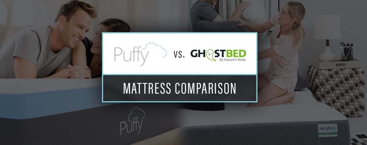 Puffy Vs Ghostbed Mattress 2019 Head To Head Brand