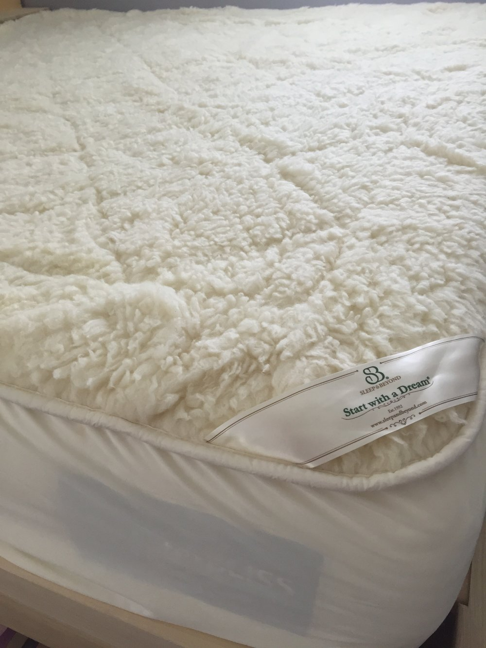 Wool Mattress Pad Reviews Personal Experience By Sarah Sleep Beyond