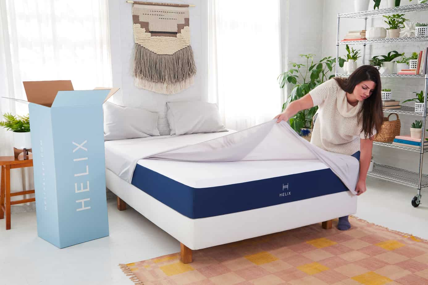 Helix Vs Loom And Leaf Helix Lifestyle 2 2695 1 Sleep Delivered