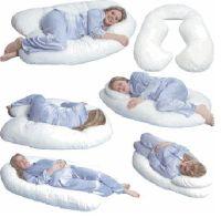 Pregnancy Sleep | Leachco Snoogle Total Body Pillow REVIEW ...