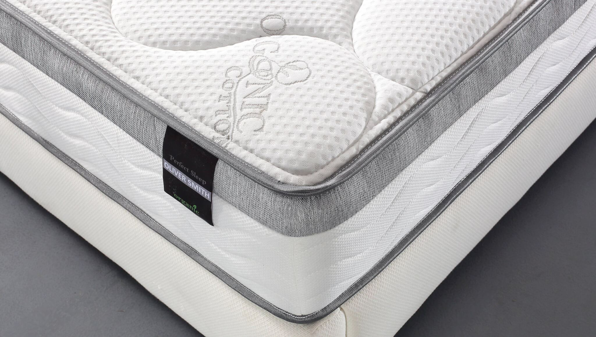Firmest Mattresses On The Market Oliver Smith Euro Pillow Top Mattress Review Sleepify