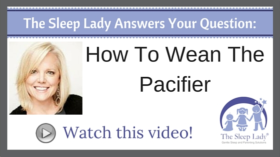 Question of the week- How To Wean The Pacifier