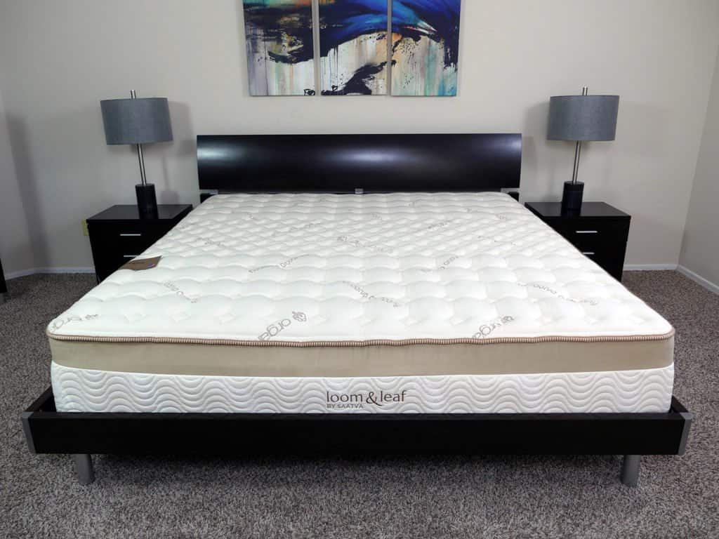 Tempurpedic Mattress King Size Loom And Leaf Vs Tempurpedic Mattress Review Sleepopolis