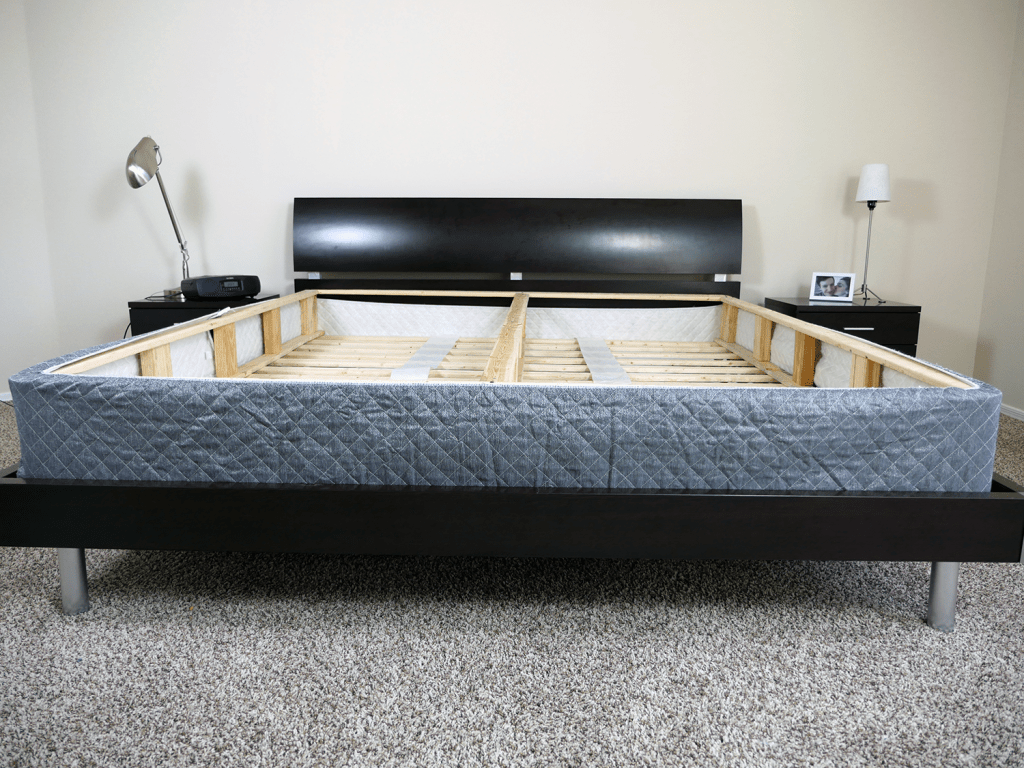 Ghostbed Boxspring Foundation Review Sleepopolis - Box Spring Bed