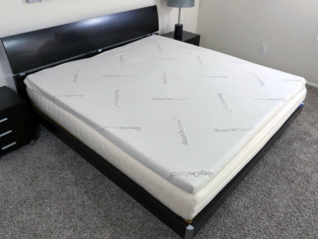 Latex Topper Sleep On Latex Mattress Topper Review Sleepopolis