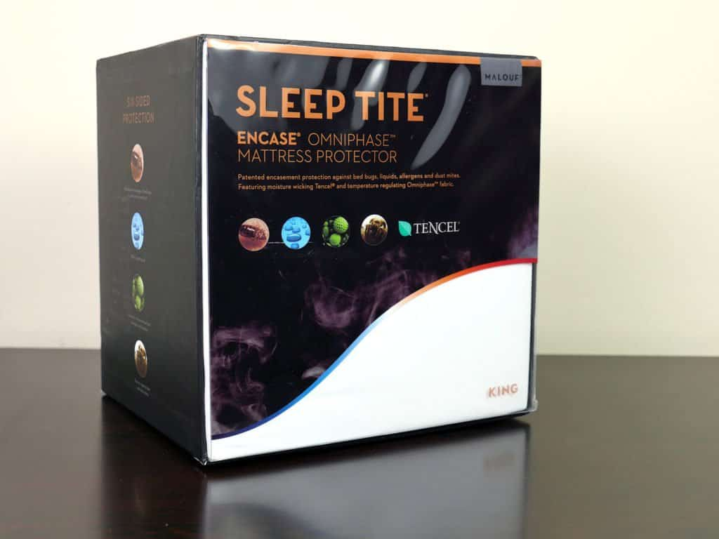 Malouf Sleep Tite Mattress Protector Malouf Sleep Tite Encasement Protector Review Sleepopolis