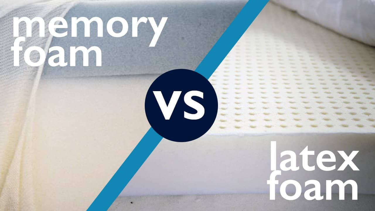 Foam Or Latex Mattresses Latex Vs Memory Foam Sleepopolis