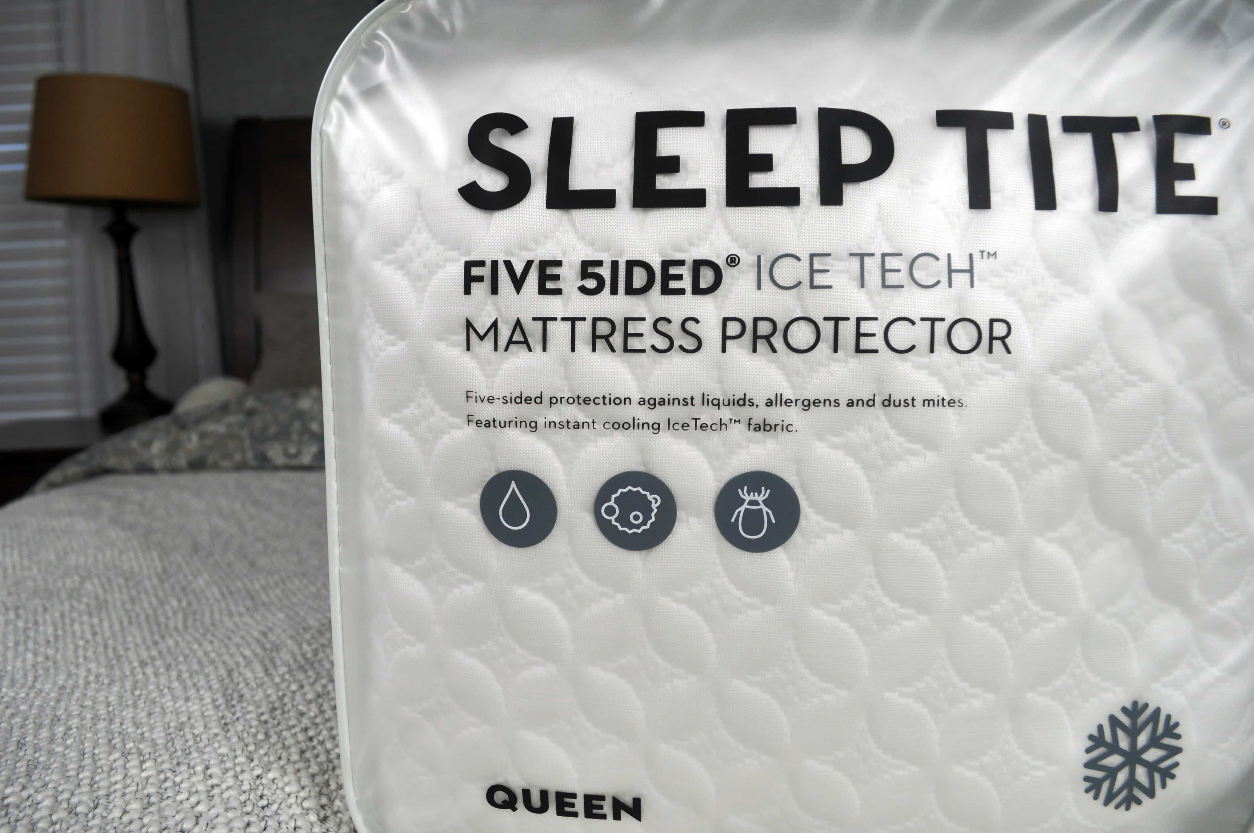 Malouf Sleep Tite Mattress Protector Malouf Sleep Tite Icetech Mattress Protector Review Sleepopolis
