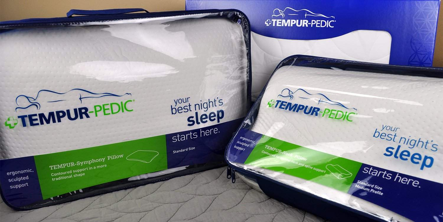 How To Use Tempurpedic Neck Pillow Tempurpedic Pillow Reviews Sleepopolis