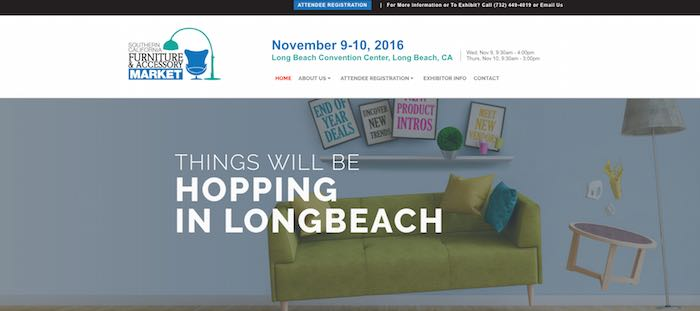 Southern California Furniture and Accessory Market Opens Nov. 9 Under New Management