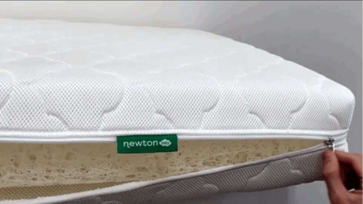 Newton Breathable Mattress Reviews Newton Crib Mattress Super Breathable And Cleanable The Sleep