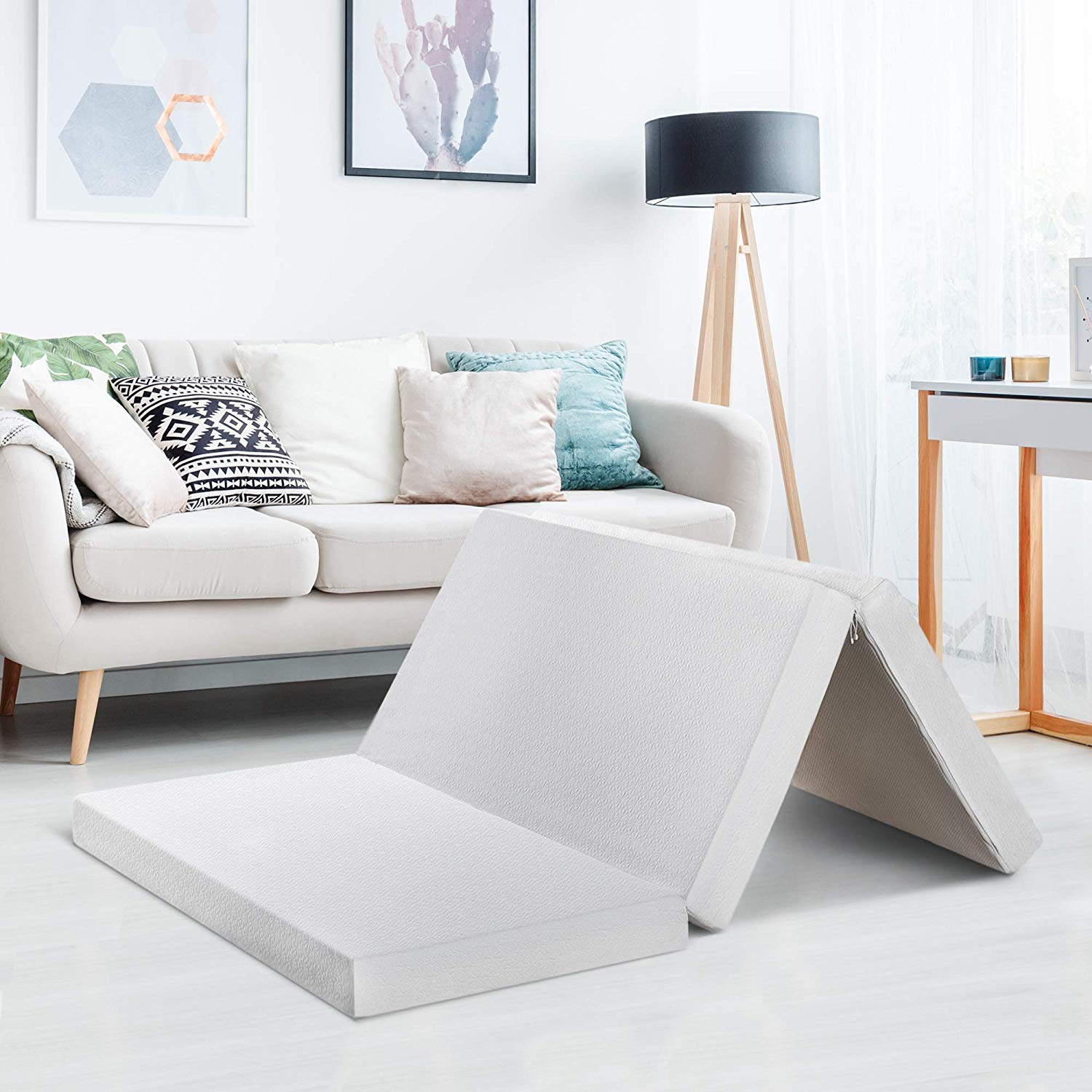 Fold Mattress Tri Fold Your Way Into 2019 We Review The Best Folding Mattresses