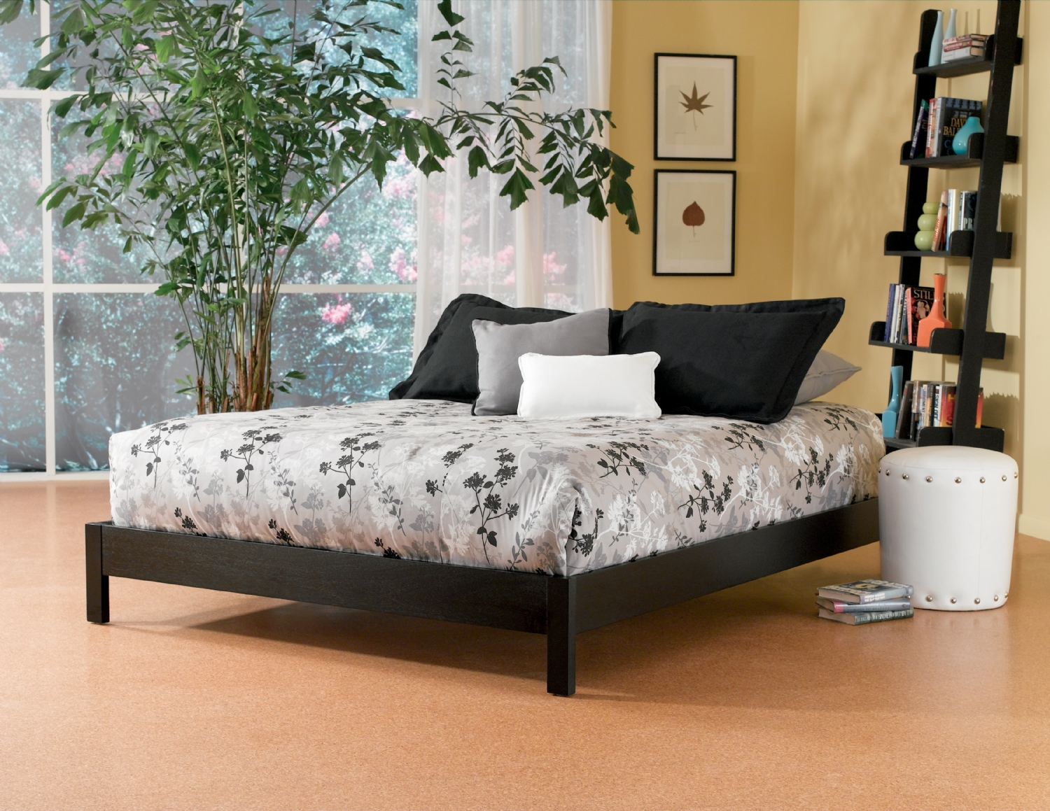 White Platform Bed Without Headboard Murray Platform Bed Fashion Bed Group