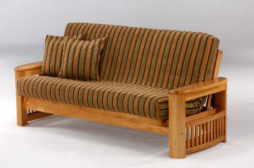 Medium Of Wood Futon Frame