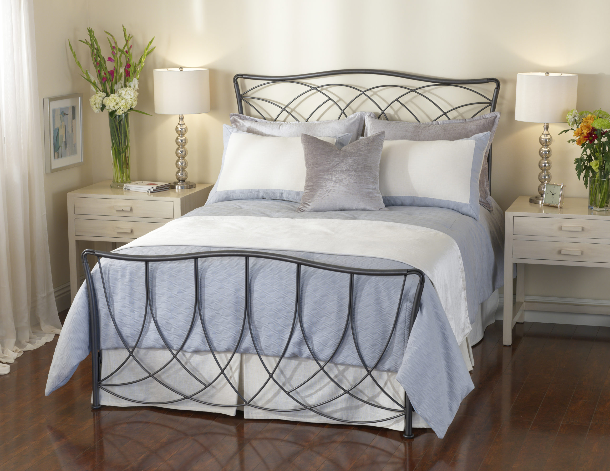 Metal Bed Headboards Marin Iron Bed By Wesley Allen