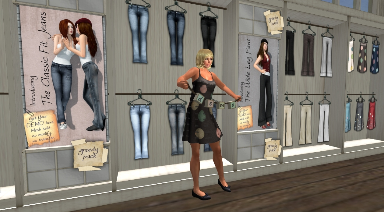 Second Life Store Slentre Com Second Life Style Report Looking For Sl Flesh In